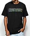 The Come Up OSS Camo Box Logo camiseta negra