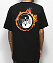 The End Ring Of Fire Black T-Shirt