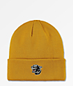 The Forecast Agency Panther Mustard Beanie