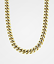 The Gold Gods 10MM Diamond Cuban Link Gold Necklace