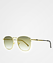 The Gold Gods Apollo Brown Gradient Sunglasses