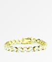 The Gold Gods Gold Buttercup Tennis Bracelet
