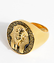 The Gold Gods Pharaoh Black & Gold Ring