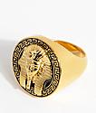 The Gold Gods Pharaoh Black & Gold Ring