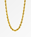 "The Gold Gods Rope Chain 28""  Necklace"