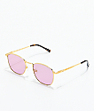 The Gold Gods The Athena Pink Gradient Sunglasses