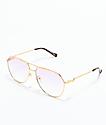 The Gold Gods The Escobar gafas de sol rosas con gradiente