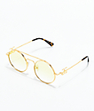 The Gold Gods Visionaries Gold & Yellow Gradient Sunglasses