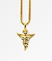 The Gold Gods collar ángel de oro