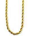The Gold Gods collar de cadena cuerda