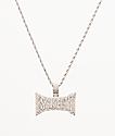 "The Gold Gods x Lil Pump Esskeetit 22"" White Gold Necklace"