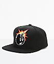 The Hundreds Adam Snap Black Snapback Hat