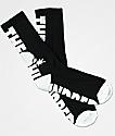 The Hundreds Bar Black Crew Socks