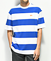 The Hundreds Bay Blue & White Stripe T-Shirt