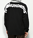 The Hundreds Beach Black & Grey Hooded Shirt