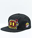 The Hundreds Champs Black Snapback Hat