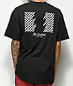 The Hundreds Checkered Flag camiseta negra