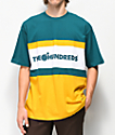 The Hundreds Club Green & Gold T-Shirt