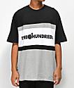 The Hundreds Club camiseta negra y gris
