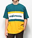The Hundreds Club camiseta verde y dorada