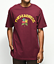 The Hundreds Generation camiseta borgoña