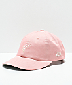 The Hundreds Ground gorra strapback en rosa