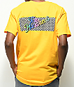 The Hundreds Line Slant Gold T-Shirt