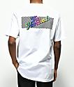 The Hundreds Line Slant camiseta blanca