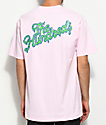 The Hundreds Ooze Slant Pink T-Shirt
