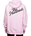 The Hundreds Rose Fill Slant Pink Hoodie