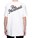 The Hundreds Rose Fill Slant camiseta blanca