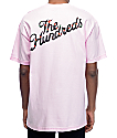 The Hundreds Rose Fill Slant camiseta rosa