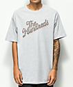 The Hundreds Slant Square camiseta gris