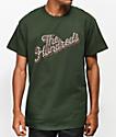 The Hundreds Slant Squares Green T-Shirt
