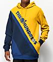 The Hundreds Slope sudadera con capucha dorada y azul