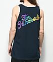 The Hundreds Spectrum Slant camiseta sin mangas en azul marino