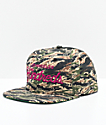 The Hundreds Team Tiger gorra snapback camuflada