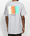 The Hundreds Wildfire camiseta gris con bolsillo