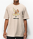 The Hundreds x ACME Wil-E camiseta beige
