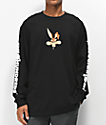 The Hundreds x ACME Wil-E camiseta de manga larga negra