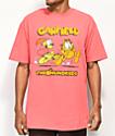 The Hundreds x Garfield Chase camiseta naranja