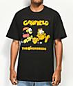 The Hundreds x Garfield Chase camiseta negra