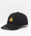 The Hundreds x Garfield Mood Black Strapback Hat