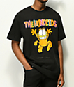The Hundreds x Garfield Run camiseta negra