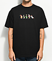 The Hundreds x Roger Rabbit Weasels Black T-Shirt