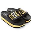 TheWhiteBrand Beach Please Platform Slide Women's Sandals