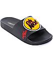 TheWhiteBrand Oh No! Black Slide Women's Sandals