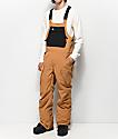 ThirtyTwo Basement Brown 10K Snowboard Bib Pants