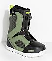 ThirtyTwo STW botas de snowboard en oliva y negro