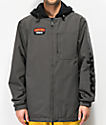ThirtyTwo x Santa Cruz Merchant Charcoal 10K Snowboard Jacket